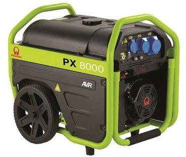 NOLEGGIO GENERATORE PRAMAC PX8000