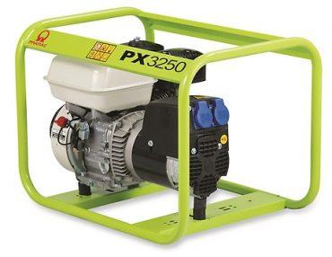 GENERATORE kW 2,3 PRAMAC PX3250 A BENZINA MONOFASE