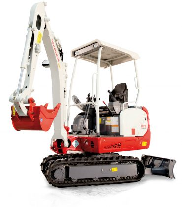 NOLEGGIO MINI Escavatore Takeuchi TB216